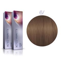 Wella Professional Illumina Color 6/ (Темный блонд) стойкая крем-краска для волос 60 мл.