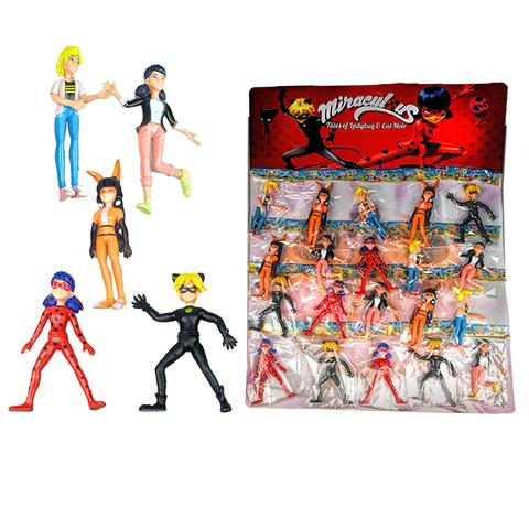 Коллекция игрушек на блистере Леди Баг (ассорти)  1кор*1бл*20шт