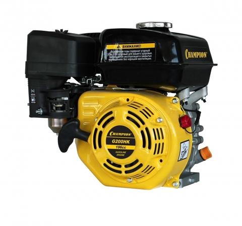 Бензиновый двигатель Сhampion G200HK