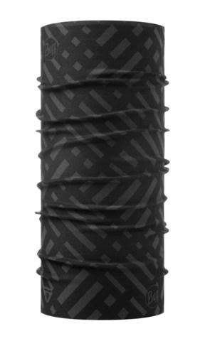 Бандана-труба тонкая зимняя Buff Thermonet Platinum Graphite