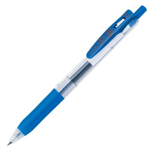 Ручка гелевая Zebra Sarasa Clip 0.3 кобальтовая / Cobalt Blue