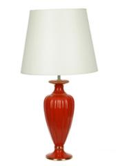 Элитная лампа настольная Classic collection малая красная от Sporvil