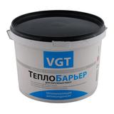 Краска ВГТ теплоизоляционная ТеплоБарьер силиконизированная белая 9л (5кг)