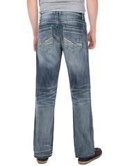 1701 джинсы мужские, синие