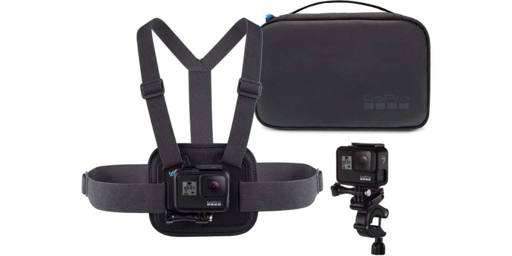 Набор аксессуаров Sport GoPro AKTAC-001 (Sport Kit) с камерой