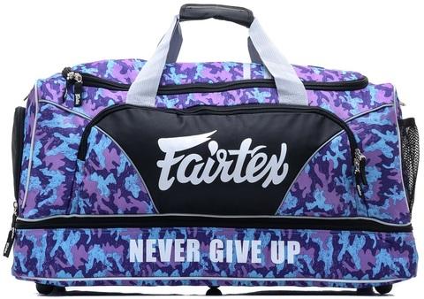 Сумка Fairtex Equipment Gym Bag BAG2 Purple Camo