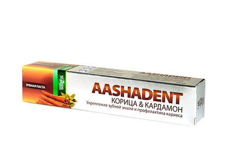 Зубная паста Корица-Кардамон, 100 мл Aasha