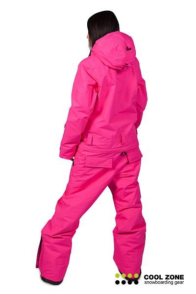 Сноубордический комбинезон женский Cool Zone 2722 спина