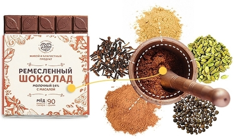 Набор шоколада на меду ПРЯНЫЙ