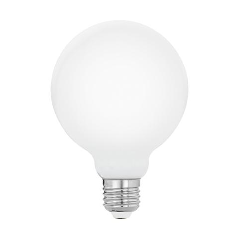 """Лампа  Eglo филаментная """"Милки"""" опал. стекло LM LED E27 G95 2700K 11599"""
