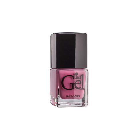 Relouis Like Gel Лак для ногтей с гелевым эффектом тон №01 (нежный пион) 6г