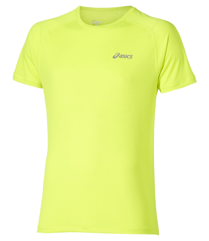 Мужская футболка для бега Asics SS Top (110407 0392) желтая