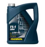 Mannol TS-1 SHPD 15W-40 - Минеральное моторное масло для грузовых автомобилей