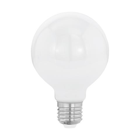 """Лампа  Eglo филаментная """"Милки"""" опал. стекло LM LED E27 G80 2700K 11598"""