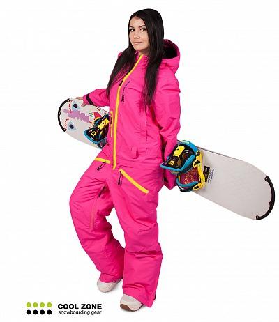 Сноубордический комбинезон женский Cool Zone 2722 бок