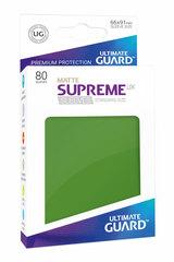 Ultimate Guard - Зеленые матовые протекторы 80 штук в коробочке