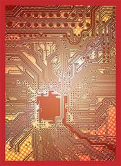 Legion Supplies - Circuit - Red Протекторы 50 штук