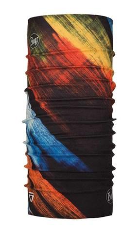 Бандана-труба тонкая зимняя Buff Thermonet Solar Wind Multi
