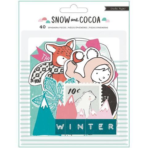 Высечки Snow & Cocoa от Crate Paper