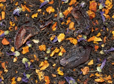 Черный чай Шепот осени (слива/тыква)