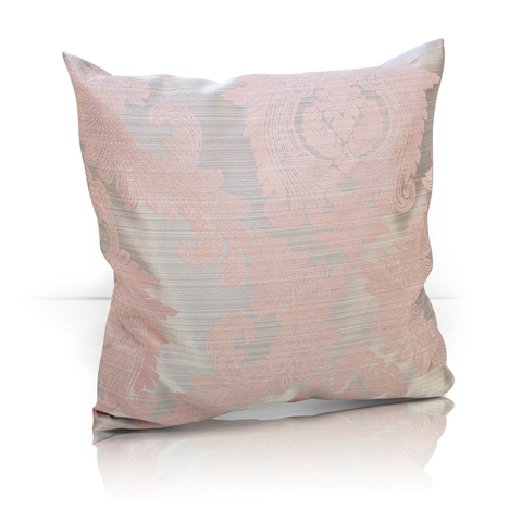 Подушка декоративная жаккард Вера розовый
