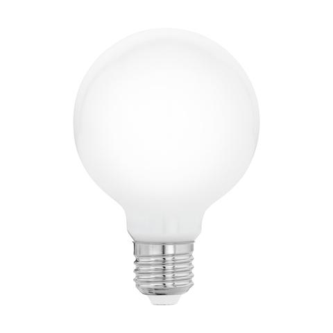 """Лампа  Eglo филаментная """"Милки"""" опал. стекло LM LED E27 G80 2700K 11597"""