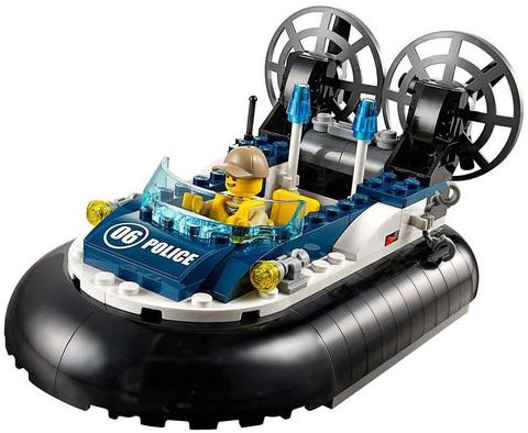 LEGO City: Полицейский корабль на воздушной подушке 60071