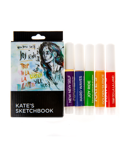 kate's sketchbook Sample Pack