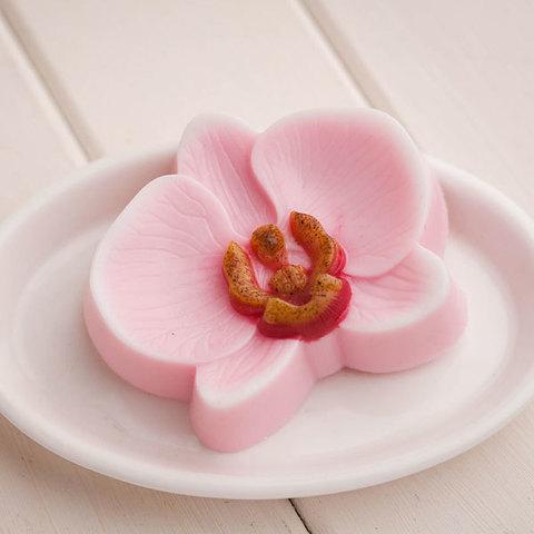 Форма для мыловарения Орхидея. Мыло ручной работы