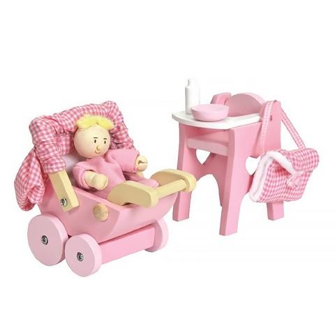 Игровой набор Детская с малышом, Le Toy Van