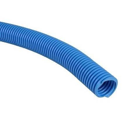 Труба гофрированная STOUT - 18 (наружный диаметр 20 мм, цвет синий, бухта 50м.)