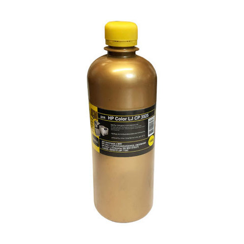Тонер желтый для HP Color LaserJet M551, M570, M651, M252, M277. MKI Chemical - 140 г.