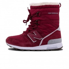 Зимние New Balance Winter Sport Burgundy With Fur