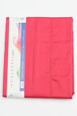 Простыня на резинке 90x200 Сaleffi Raso Tinta Unito сатин ярко-розовая