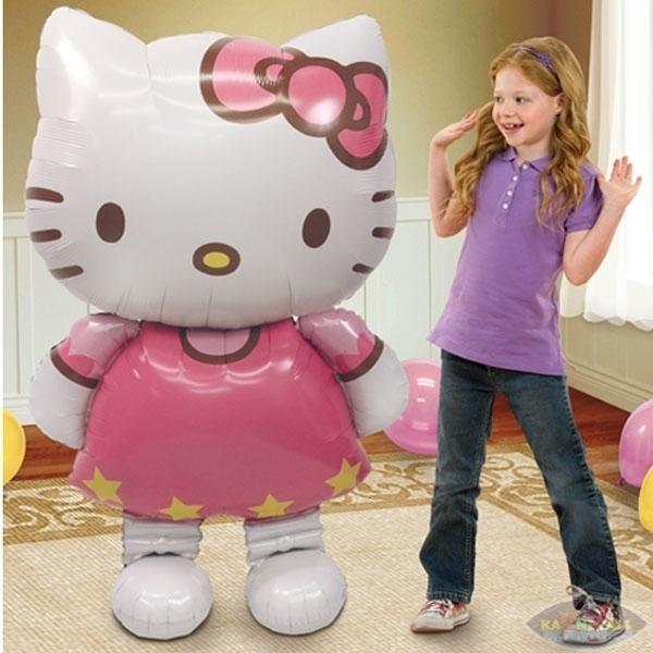 Ходячий шар Hello Kitty (фото 2)