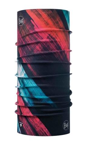 Бандана-труба тонкая зимняя Buff Thermonet Solar Wind Pink