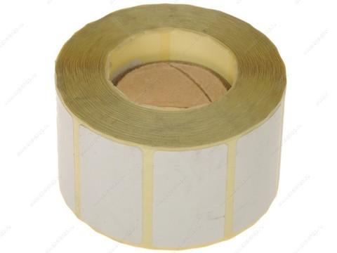 Этикетки 43х25х1000 полуглянец, втулка 40 мм ( для термотрансферных принтеров)