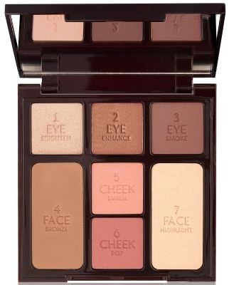 Charlotte Tilbury Stoned Rose Beauty палетка для лица