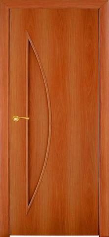 Дверь Сибирь Профиль Луна (С-6), цвет миланский орех, глухая