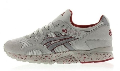 Krossovki-Asics-Gel-Lyte-V-Night-Shade-Light-Grey-Red