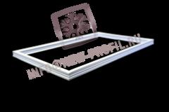 Уплотнитель 28,5*58,5 см для холодильной витрины Cryspi, Octava. Профиль 013