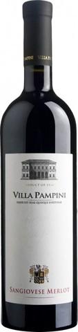 Вино Villa Pampini, Sangiovese-Merlot, Rubicone IGT, 2016, 0.75 л