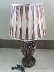 Cветильник с абажуром —  Коричневый (MK-4924)