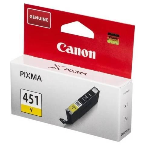 Картридж CANON CLI-451 Y жёлтый