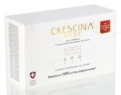 Комплекс - Лосьон для стимуляции роста волос для мужчин №20 + Лосьон против выпадения волос №20, 200  (Labo | Crescina Re-Growth HFSC 100% + Crescina Anti-Hair Loss HSSC 200), 20 х 3,5 мл + 20 х 3,5 мл