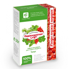 Чай Годжидоктор Тонус, 50гр+20 гр. (Сашера-Мед)