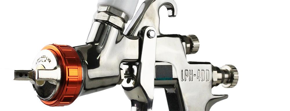 Краскопульт ANEST IWATA LPH-400 LVX / LVB
