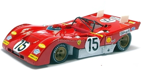 Ferrari 312PB 1973 red 1:43 Eaglemoss Ferrari Collection #53