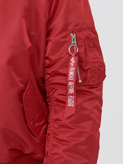 Бомбер Alpha Industries MA-1 Natus Commander Red