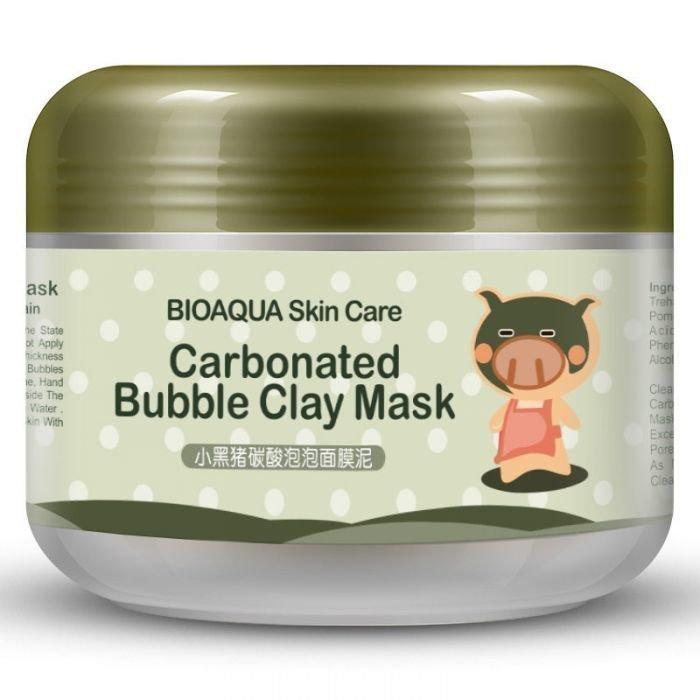 Bioaqua Пузырьковая маска с Глиной Carbonated Bubble Clay Mask, 100 г